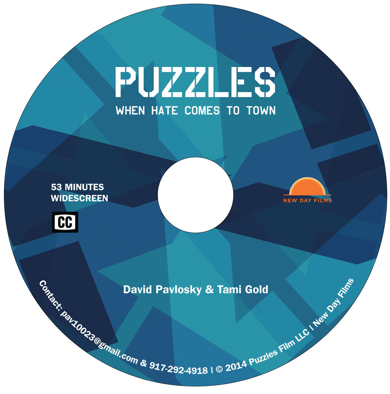 Puzzles, DVD Disc