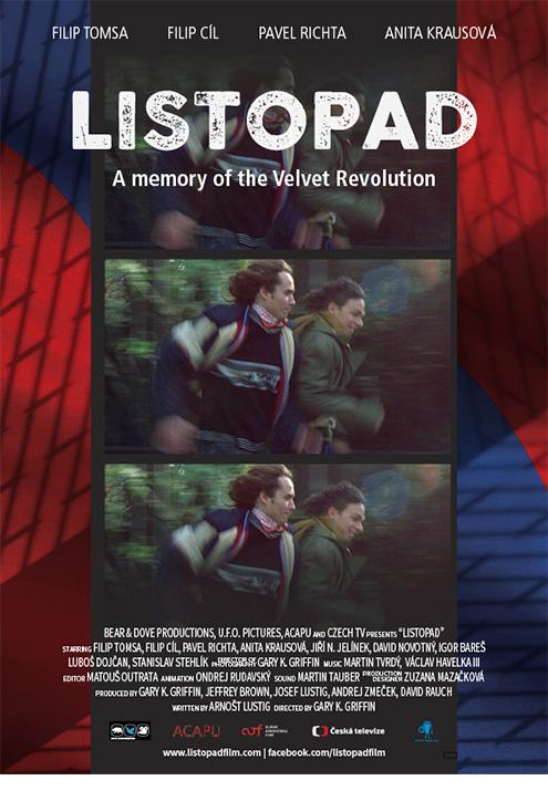 Listopad, Film poster