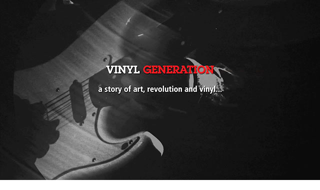 Vinyl Generation, title design thumbnail